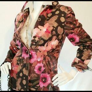 Andre Oliver floral jacket